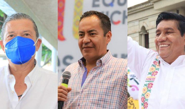 Candidatos en Michoacán, Guerrero y SLP rechazan desventaja