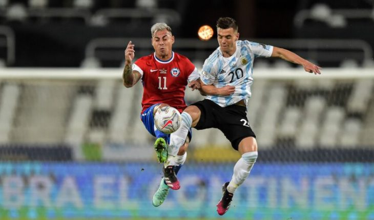 Chile empató 1-1 con Argentina en su debut en Copa América