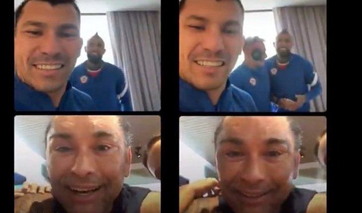 """""""Chino"""" Ríos sin censura a Medel y Vidal: """"Oye, ¿qué pasa con el callamp.. Maripán?"""