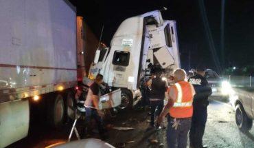 Choque de trailers en Guasave, Sinaloa deja un herido
