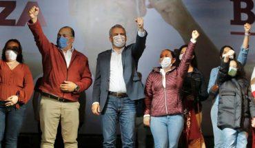 """Con 40 mil votos de ventaja """"el triunfo en las urnas es irreversible"""" dijo Alfredo Ramírez"""