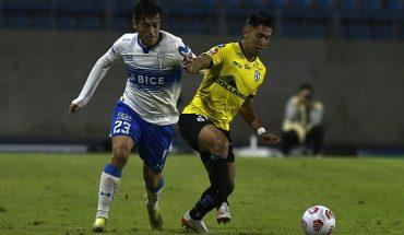 Copa Chile: La UC rescata empate ante Deportes Iquique en el partido de ida