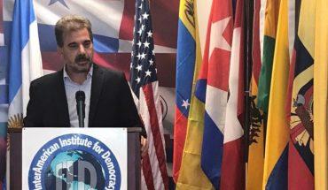 """Desde Estados Unidos, Cristian Ritondo apuntó contra """"los líderes populistas"""""""
