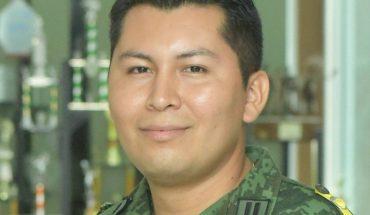 Édgar Acuña, es teniente de Sanidad en la ciudad de Mazatlán