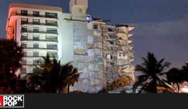 Edificio de 12 pisos colapsó porcialmente y dejó fuertes registros