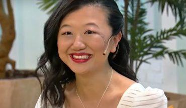 """Emotivo regreso de Karina Gao a la tv: """"El trabajo de los médicos y el rezo de la gente me salvó"""""""