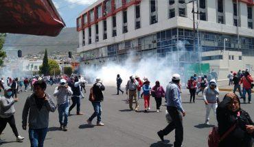 Enfrentamiento entre policías y campesinos en Hidalgo deja 4 heridos