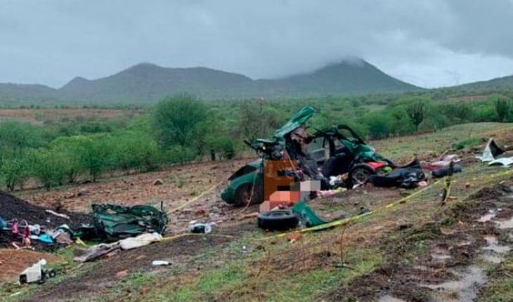 Eran de Apatzingán las víctimas del accidente de la autopista Siglo XXI