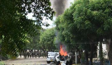 Explosión de un cochebomba en una base del Ejército en Colombia