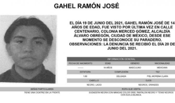 Gahel desapareció en CDMX; vino de Oaxaca a su examen de prepa