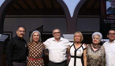 Homenajean al dramaturgo Ramón Mimiaga y lo llaman uno de los artistas más completos de Sinaloa