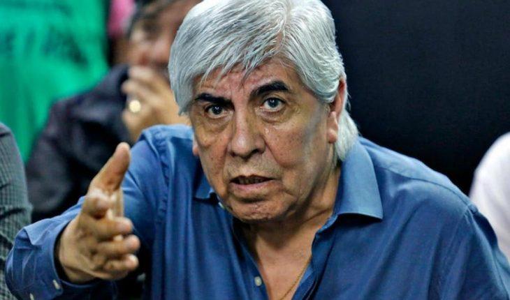 """Hugo Moyano: """"Algún candidato sindical va a haber en la lista del Frente de Todos"""""""