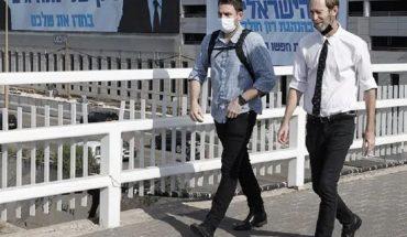 Israel reimpone la obligación del barbijo en lugares públicos cerrados