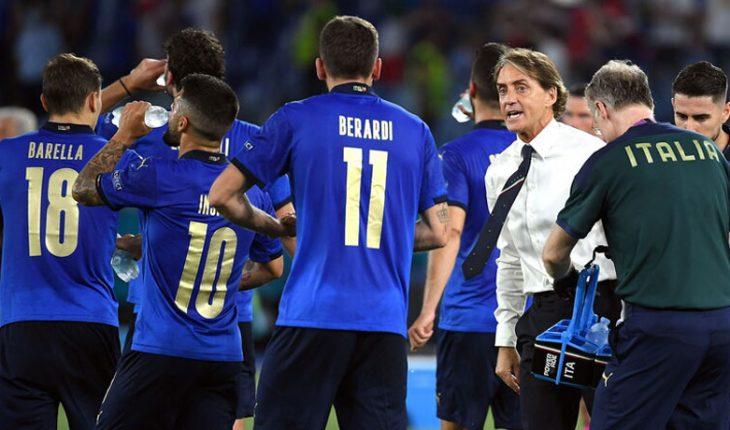 Italia aplastó a Suiza y se metió en octavos de la Eurocopa