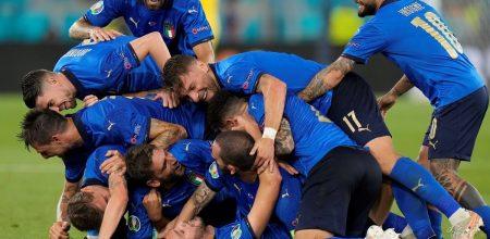 Italia goleó a Suiza y es el primer clasificado en la Eurocopa