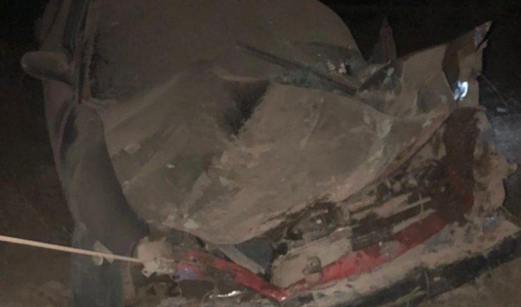 Joven resulta lesionado tras aparatoso accidente vial en Mazatlán