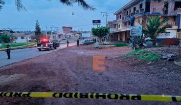 Joven sale a trabajar y es asesinado a unas cuadras de su casa en Jacona, Michoacán