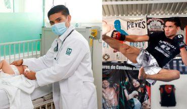 Médico interno de pregrado del IMSS, campeón mundial de Artes Marciales Mixtas