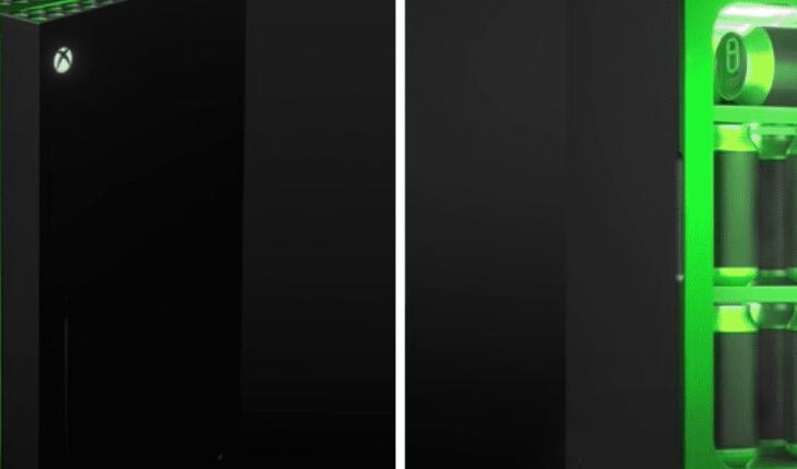 Microsoft anuncia mini refrigerador con la forma de la Xbox Series X