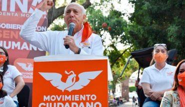 Movimiento Ciudadano será representado por 48 regidores en los municipios: Luis Manuel Antúnez