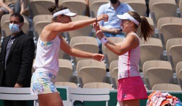 Nadia Podoroska se metió en semis de dobles de Roland Garros
