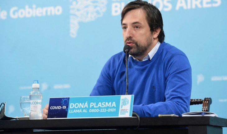 """Nicolás Kreplak dijo que las condiciones son """"adecuadas"""" para volver a las clases presenciales en Provincia"""