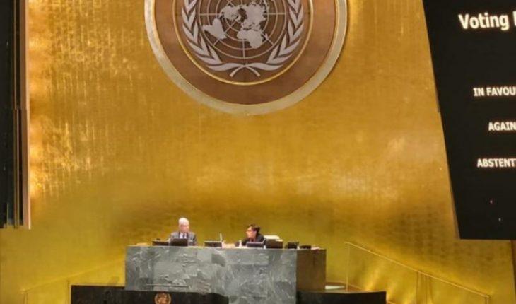 ONU aprueba resolución que pide fin del embargo de USA a Cuba