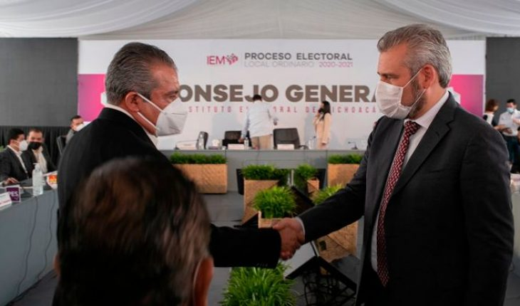 Pese a inconsistencias del IEM, la 4T llegará a Michoacán con Alfredo Ramírez: Raúl Morón