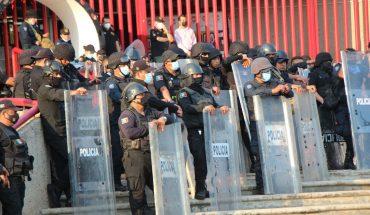 Policía poblana toma instalaciones de la UDLAP por orden judicial