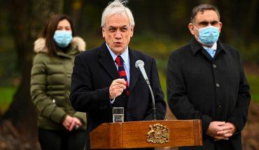 Presidente Piñera anunció catastro de tierras y condenó violencia en Collipulli
