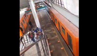 Rescata Metro a persona que se arrojó a las vías y reanuda servicio en Línea B