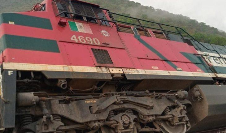 SCT integra ARTF para indagar descarrilamiento de tren en Jalisco