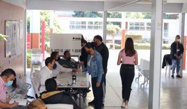 Sin incidentes se instalaron la totalidad de Casillas en Aguililla