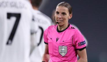 Stephanie Frappart será la primera árbitra en la Eurocopa 2020