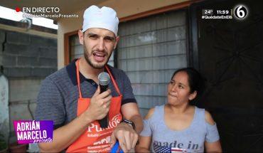 Adrián se convierte en 'el panadero con el pan' | Adrián Marcelo Presenta