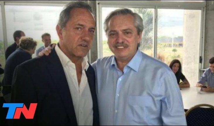 """Daniel Scioli bajó la tensión por los dichos de Alberto Fernández: """"El tema está superado"""""""