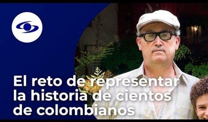 El reto de representar la historia de cientos de colombianos para Javier Cámara - Caracol TV