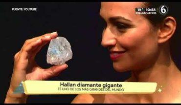 Encuentran diamante gigante y rompe récord   La Bola del 6