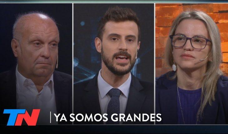 Hernán Lombardi y Carolina Píparo en YA SOMOS GRANDES