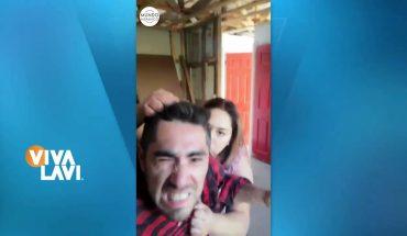 Hombre expone ser golpeado por su mujer   Vivalavi