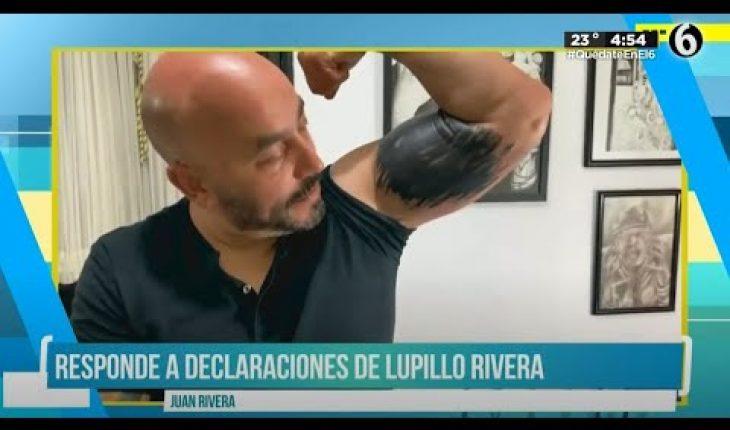 Juan Rivera opina sobre el tatuaje de Lupillo | El Chismorreo