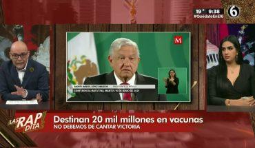Los millones de pesos destinados a vacunas | Las Rapiditas