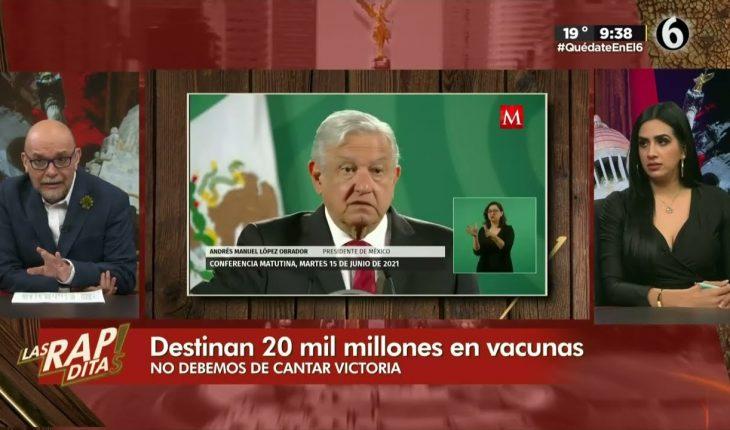 Los millones de pesos destinados a vacunas   Las Rapiditas