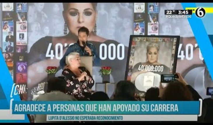 Lupita D'Alessio celebra 51 años de carrera | El Chismorreo