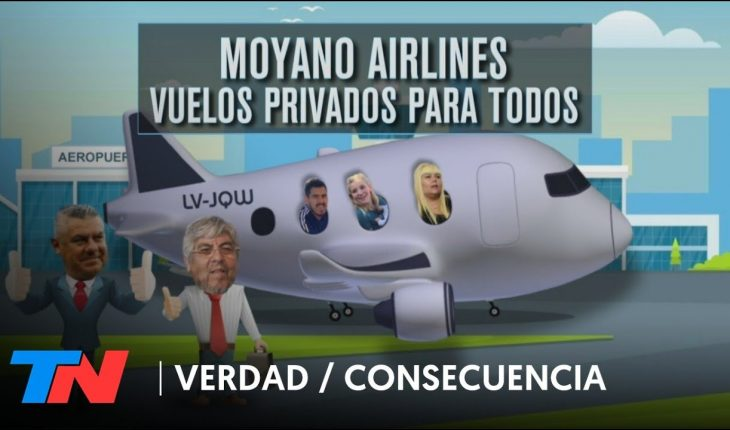 MOYANO AIRLINES - La familia Moyano viajó en un jet privado a Miami