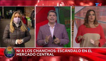 """""""NI A LOS CHANCHOS""""   Escándalo en el Mercado Central"""