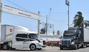 100 percent improved port movement in Mazatlan
