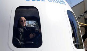 A man paid $28 million to accompany Jeff Bezos into space