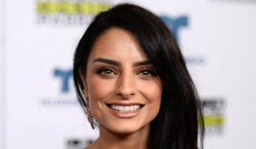 Aislinn Derbez had a road accident in Switzerland in the middle of a forest