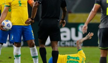 Ángel Mena suffers tired entry into Brazil vs Ecuador